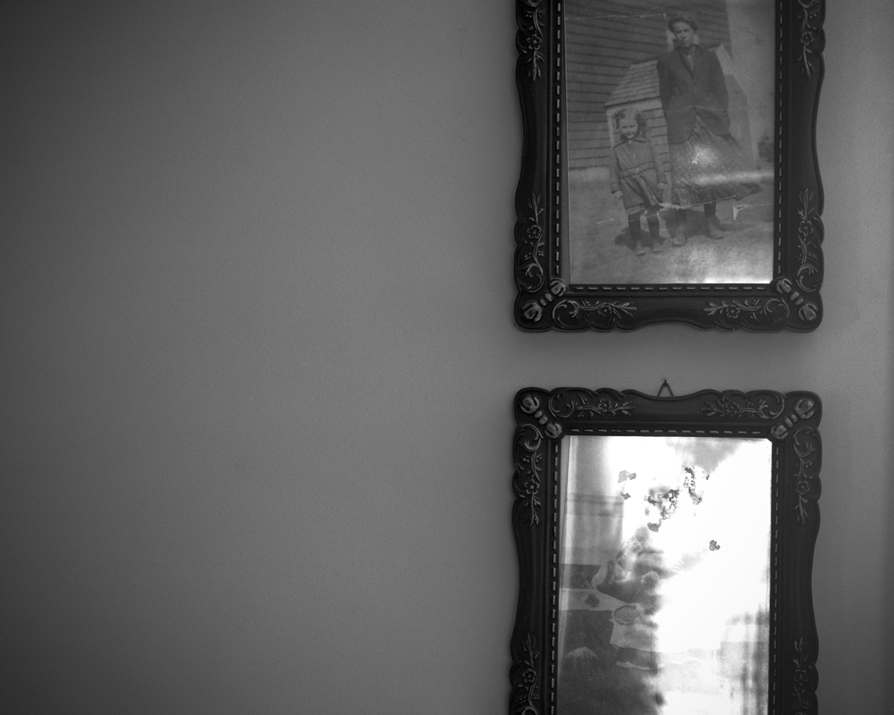 Portraits (Traces of my Mother) ©  Philip LePage