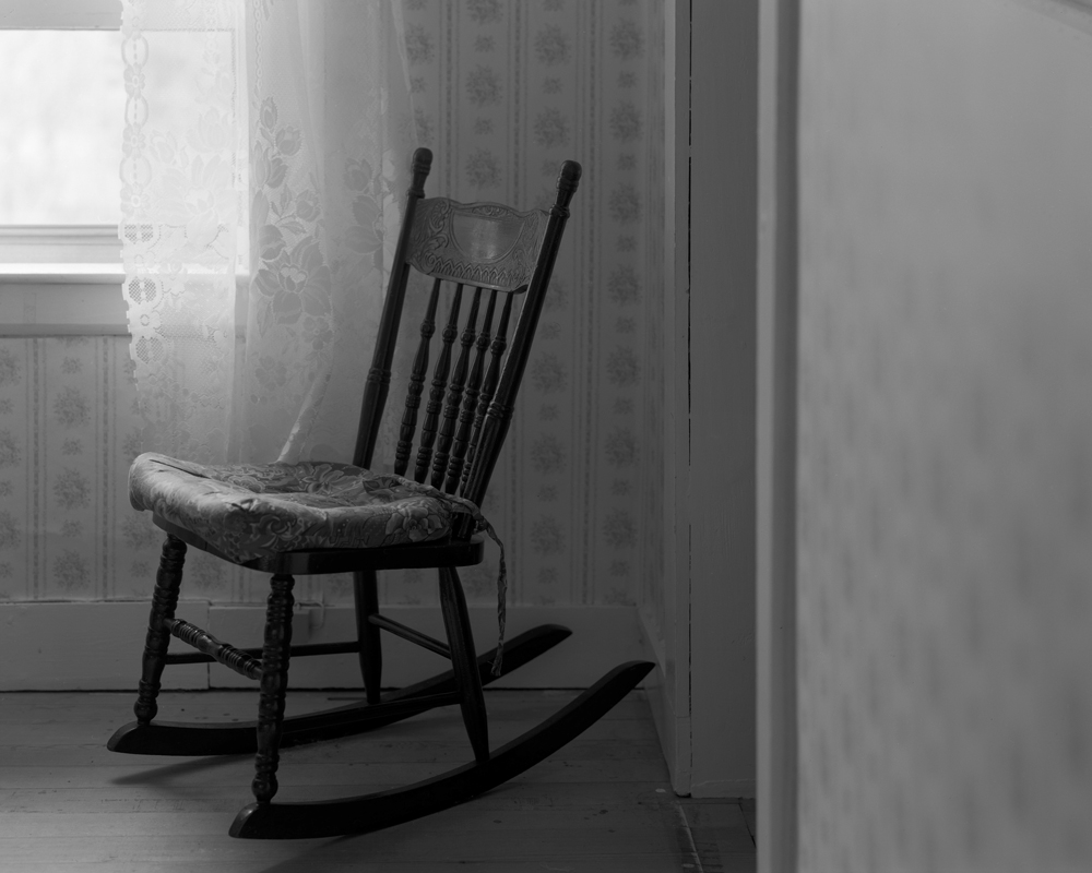 Rocking Chair (Traces of my Mother) ©  Philip LePage