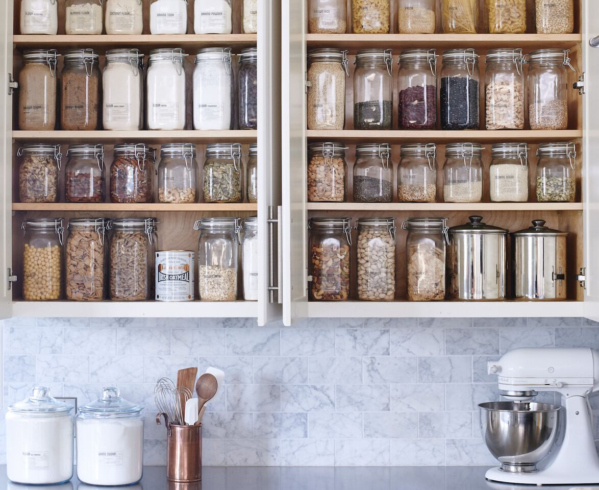 image via Remodelista. This is not my pantry but I will be reorganising it after seeing this.