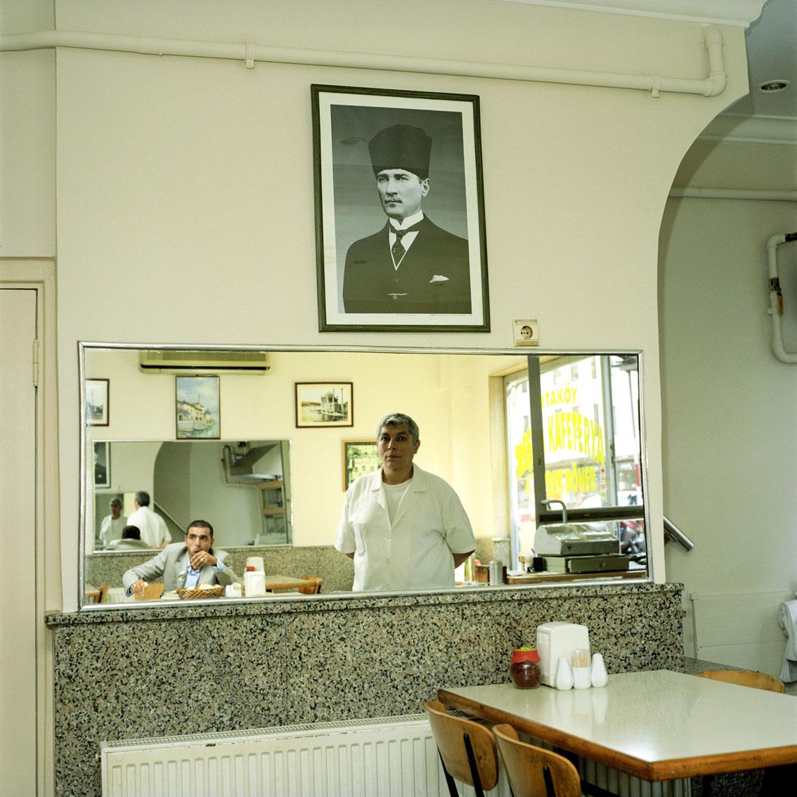 Restaurant owner in Istanbul, Turkey