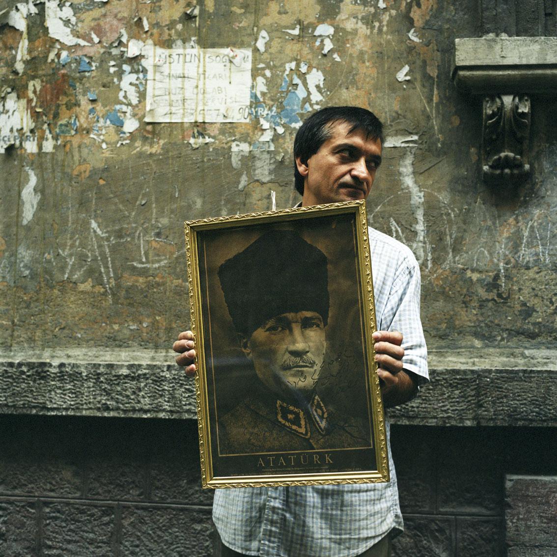 Antiques dealer in Istanbul, Turkey