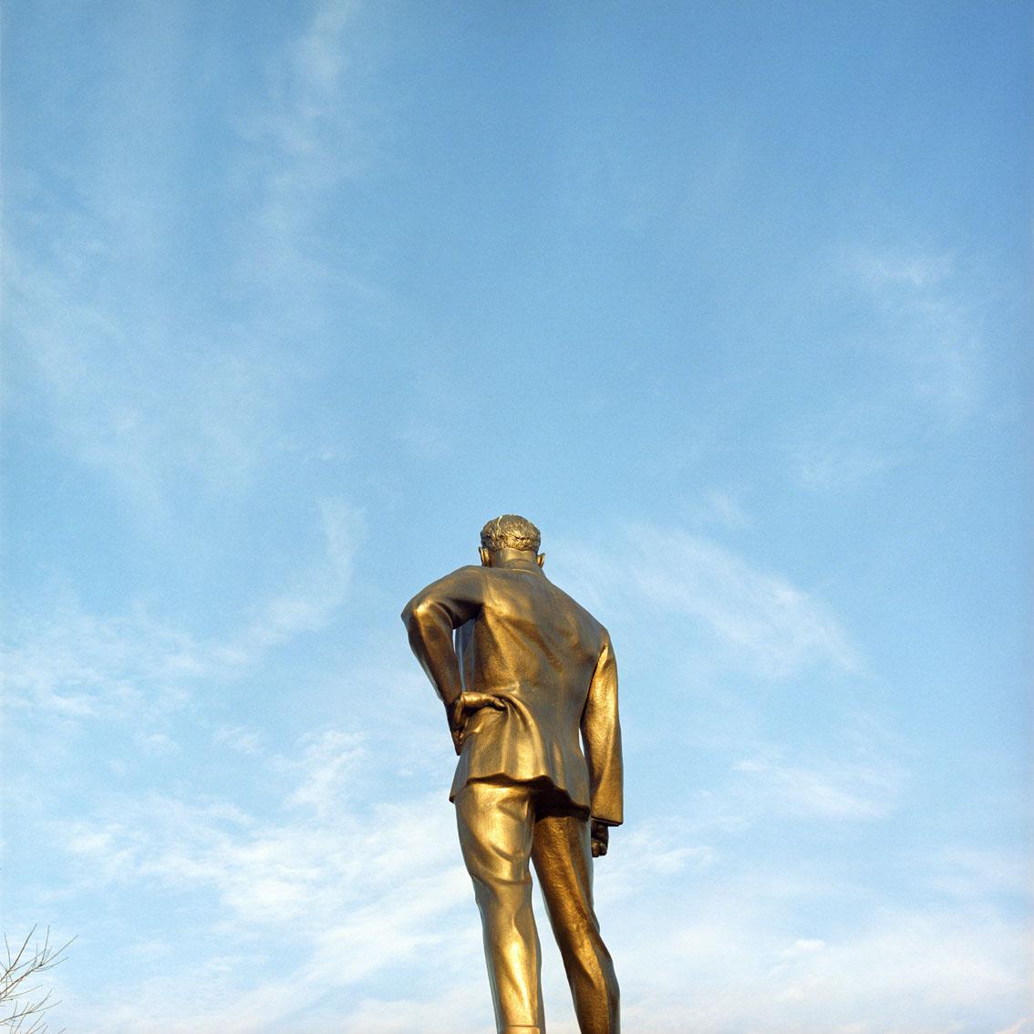 Statue of Ataturk in Istanbul, Turkey