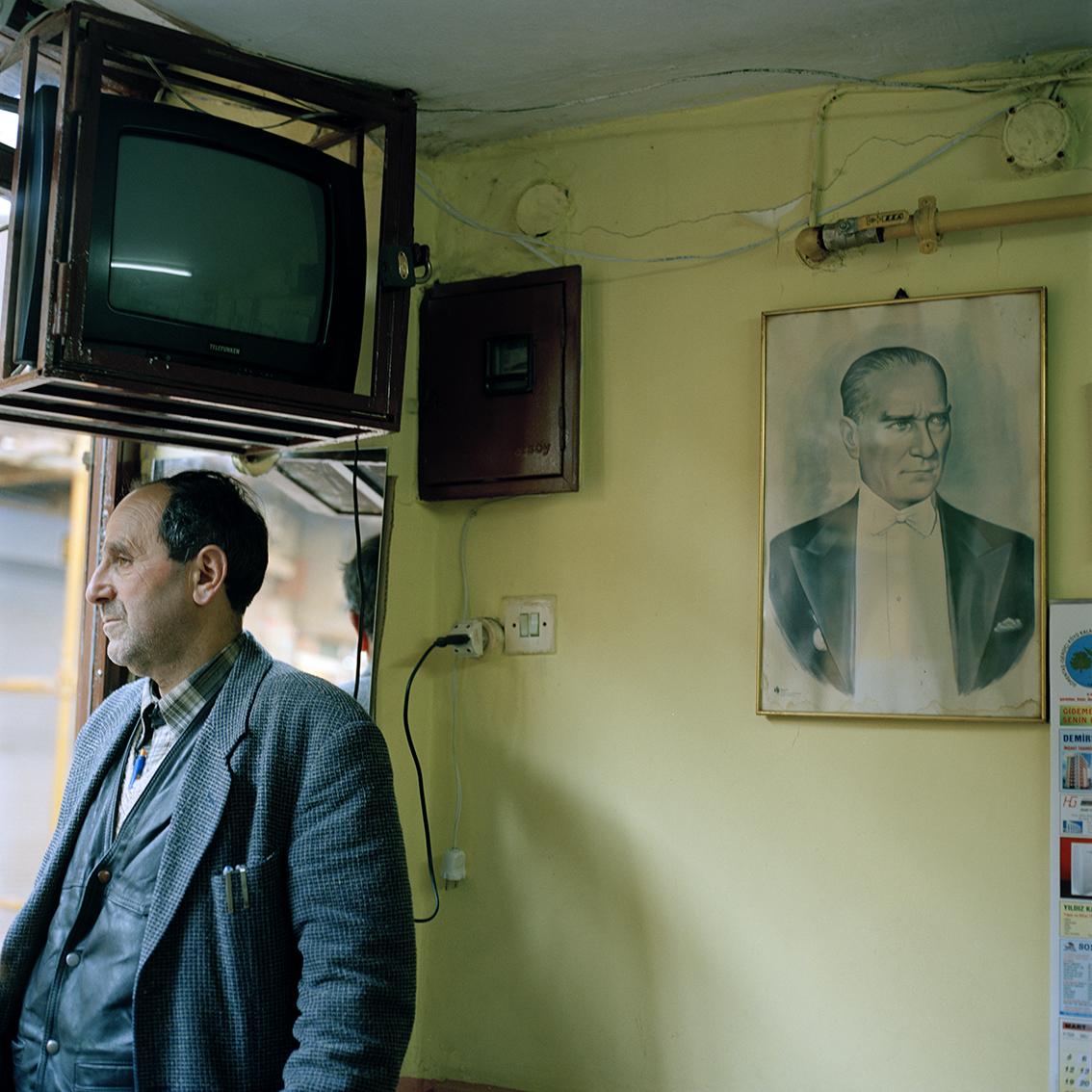 Coffee house in Istanbul, Turkey