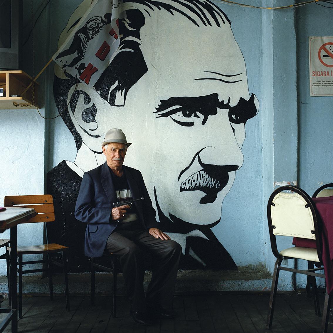 Coffee house on Tonya, Turkey