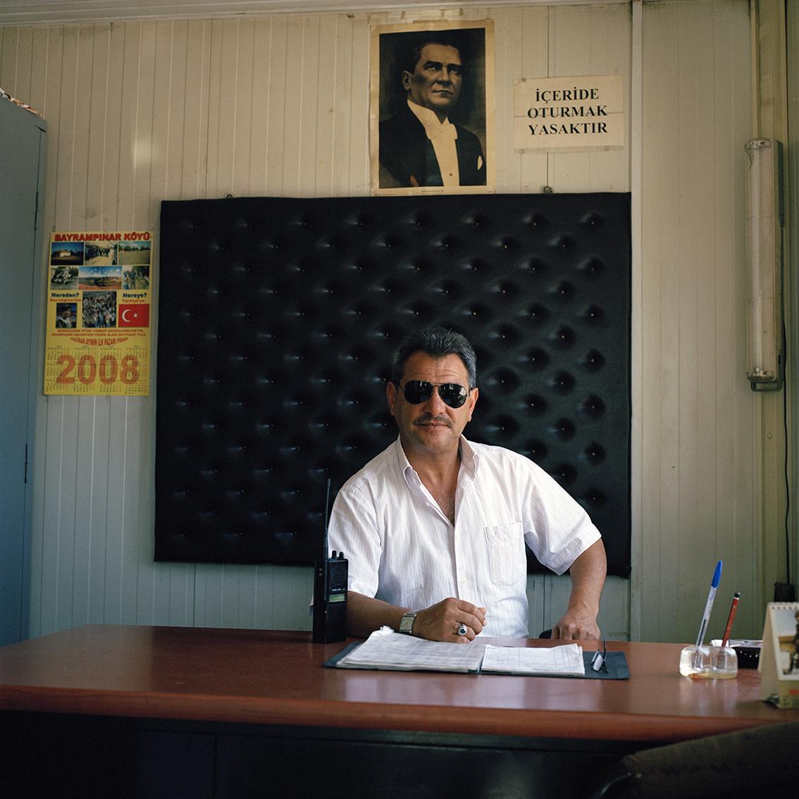 Security guard in Eskisehir, Turkey