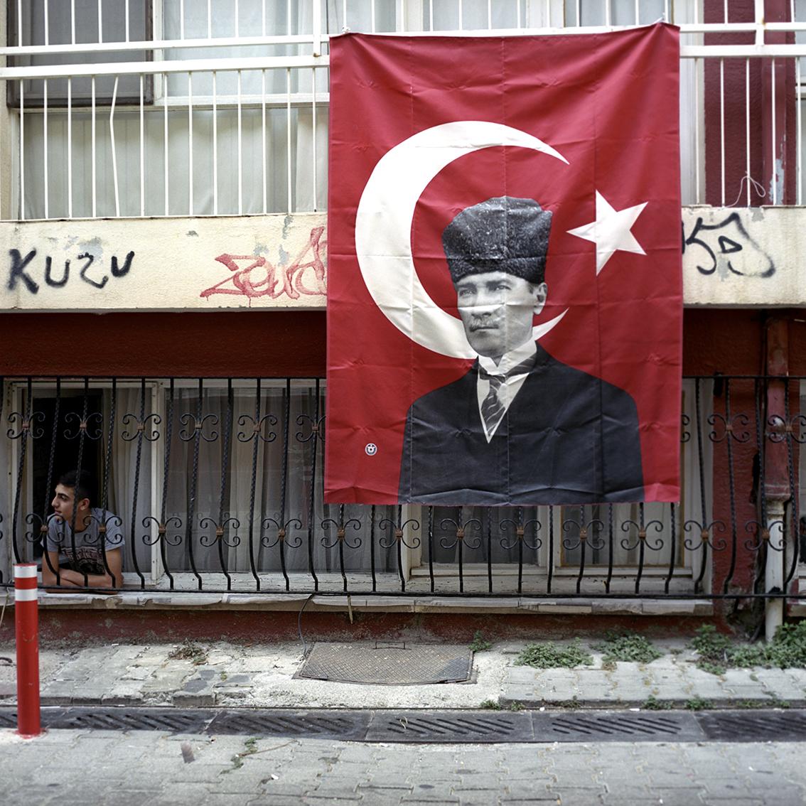 Ataturk in Izmir, Turkey