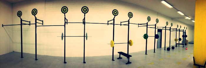 CrossFit Dietikon will officially be ready and open on the 16th of January. A little teaser here...