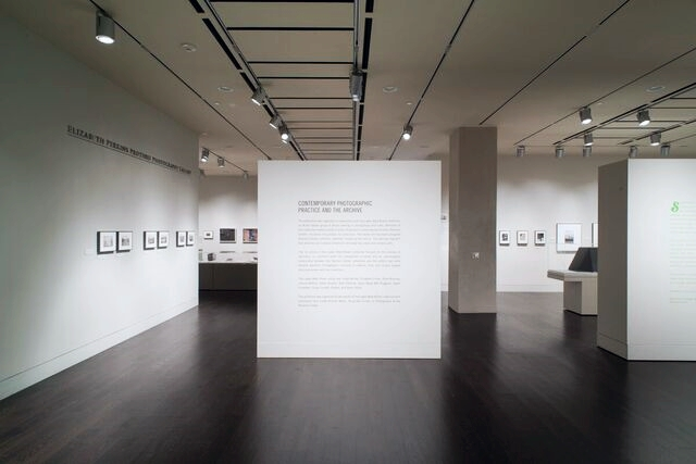 Installation view:  Contemporary Photographic Practice and the Archive