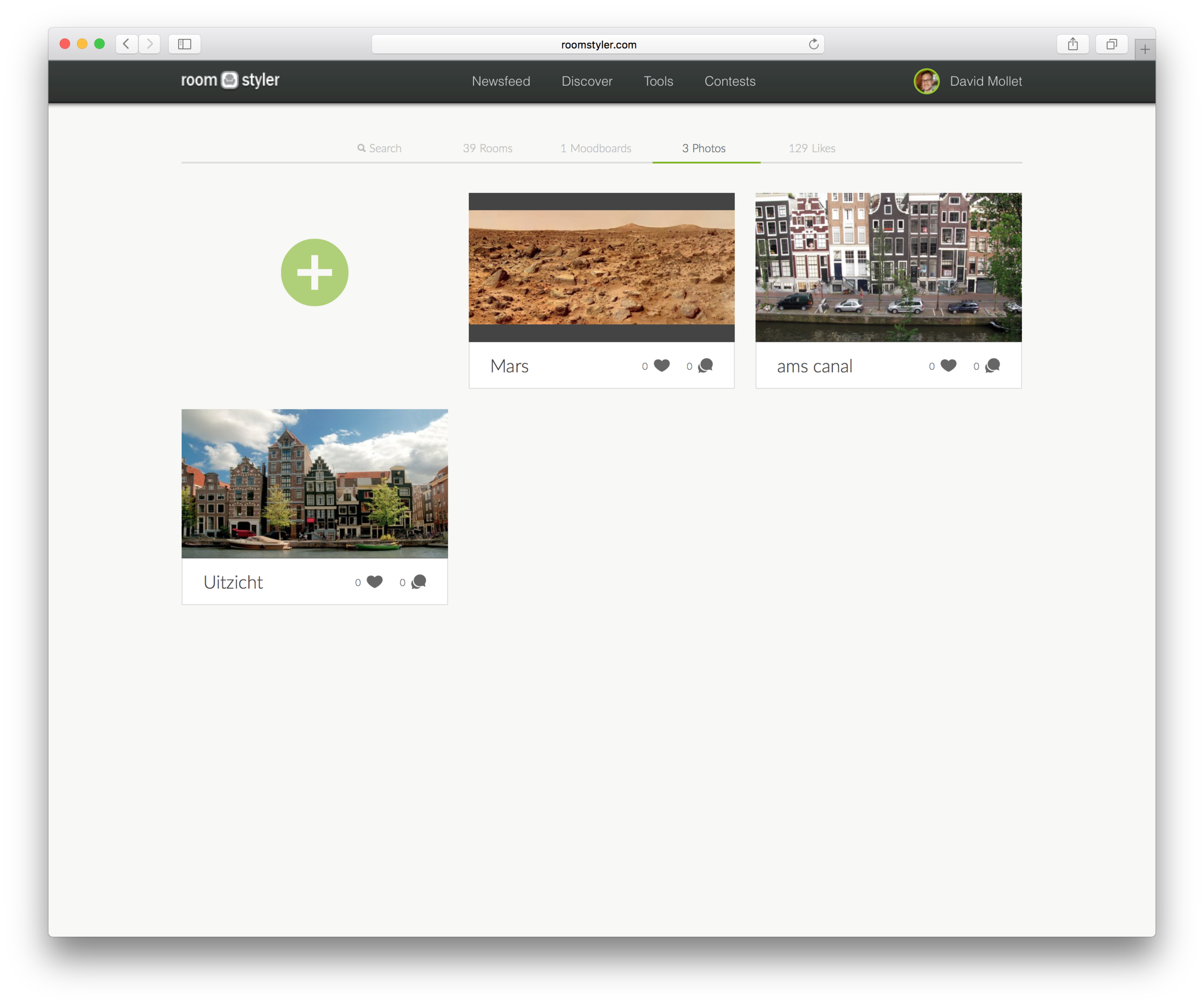 You can also see your uploaded photos