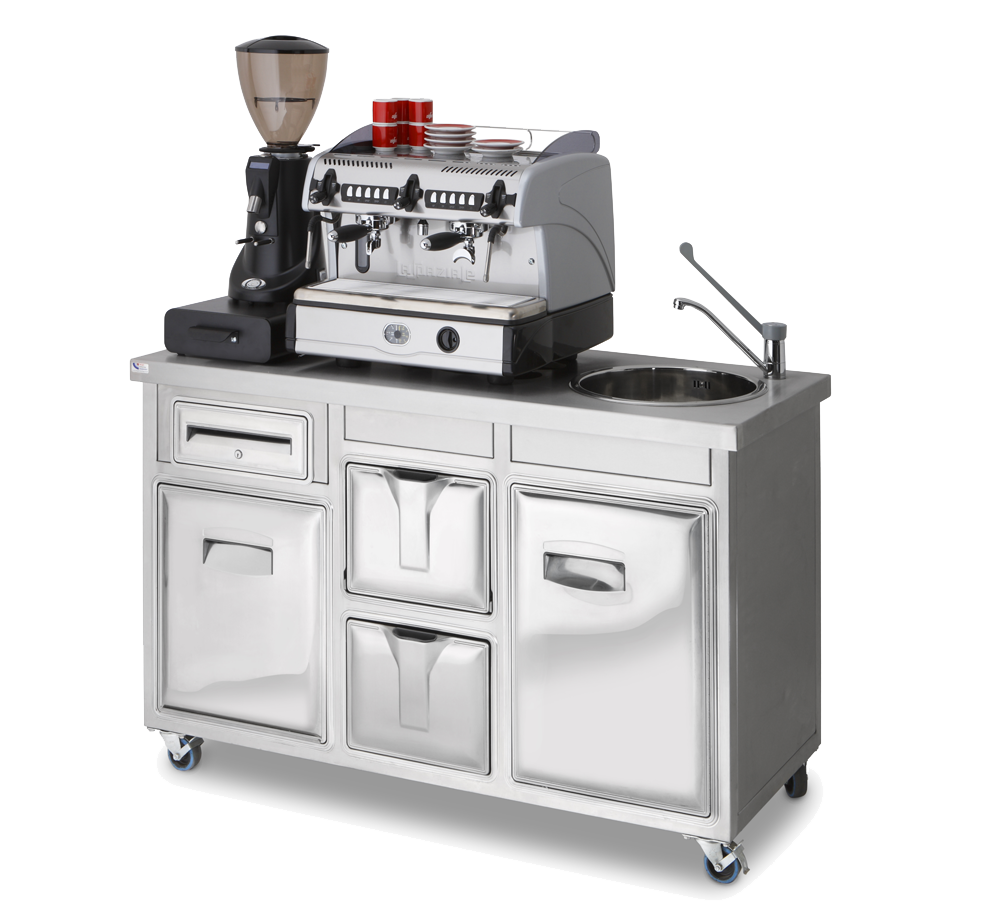 coffee machine stations