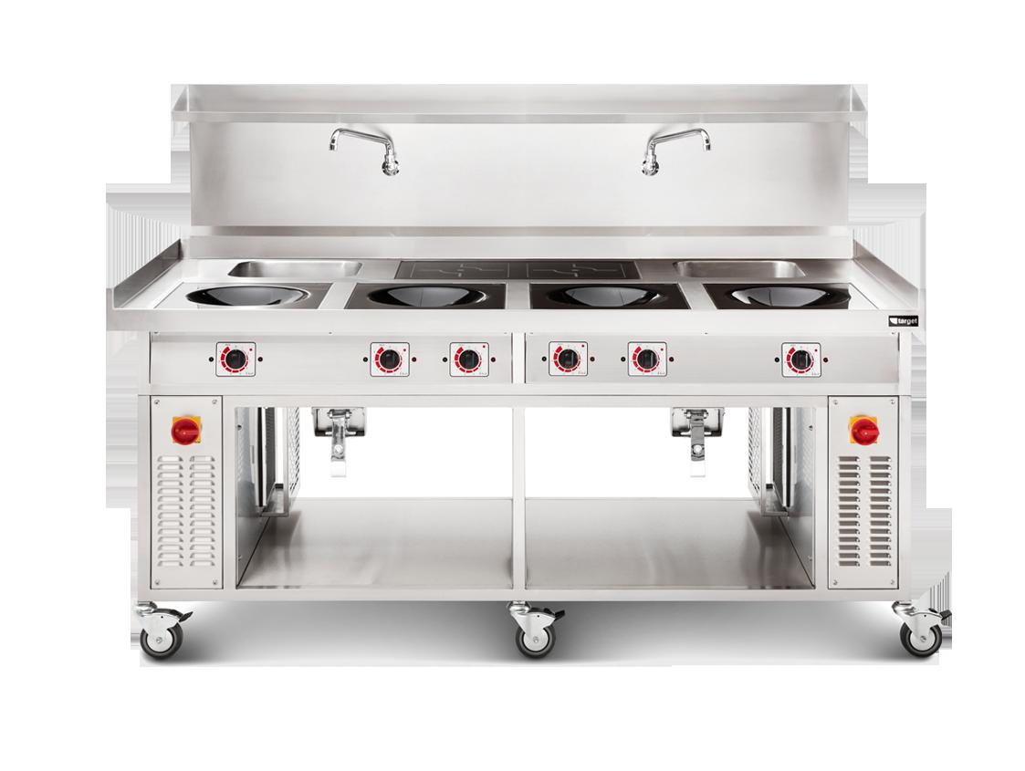 induction wok range