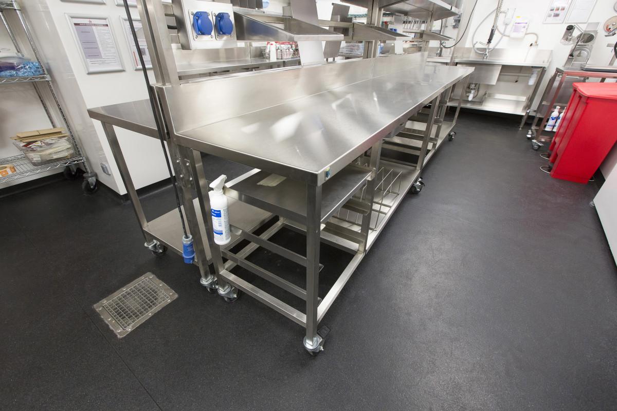 commercial kitchen non-slip flooring