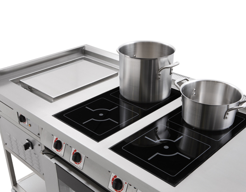 induction solid top