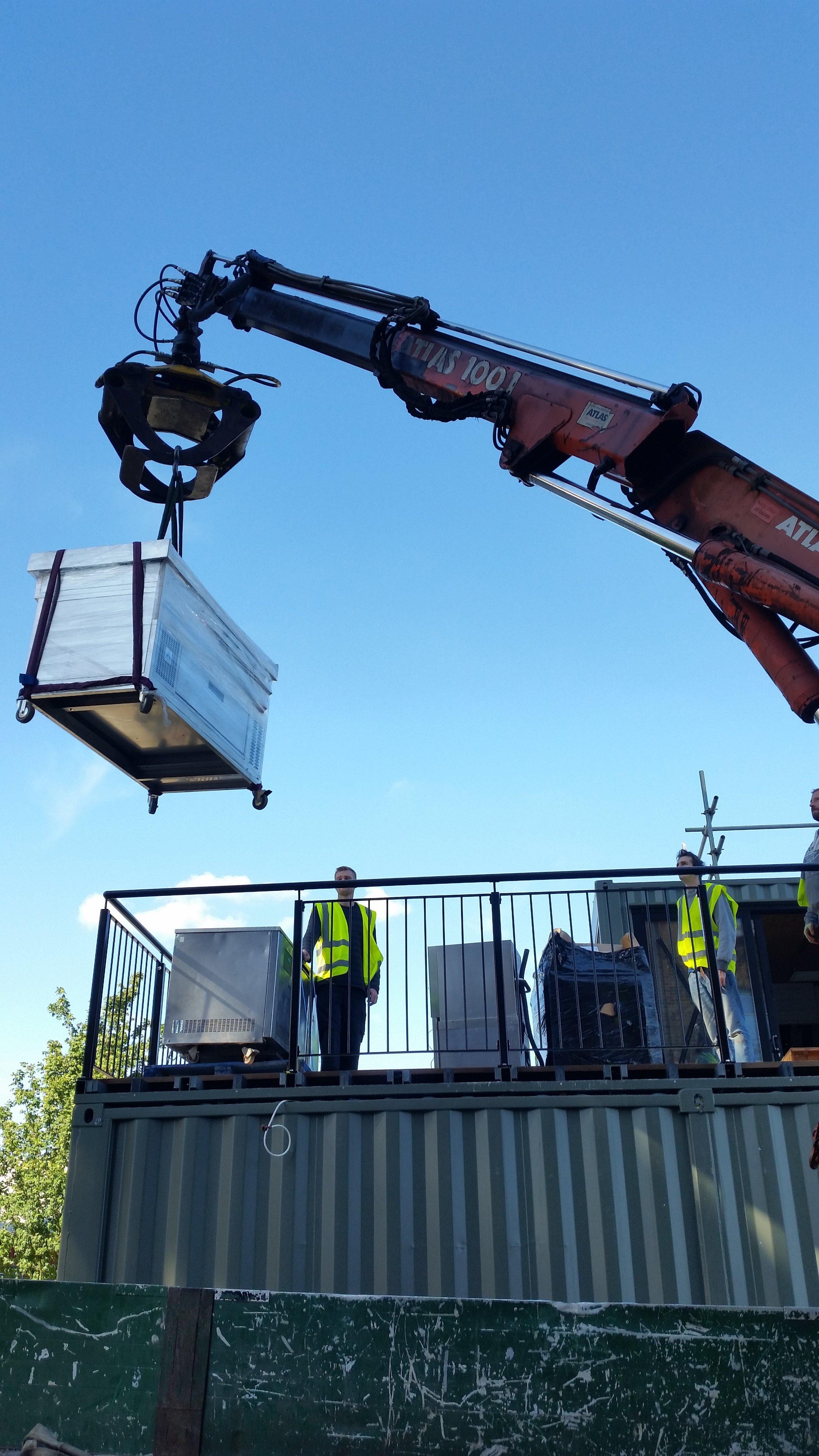 box-e restaurant induction range install
