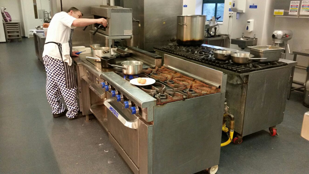 Existing Gas Fired Catering Equipment