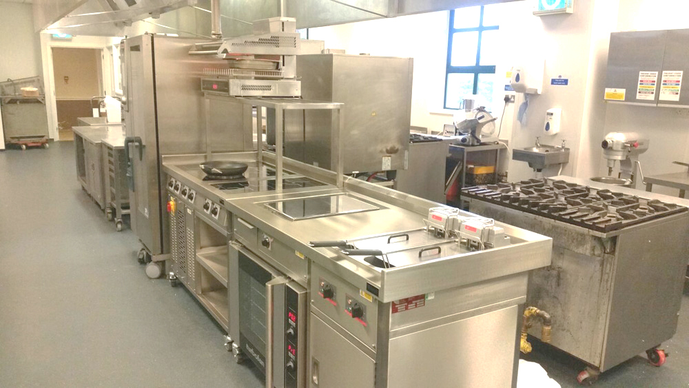 New Target Bespoke Commercial Induction Stove