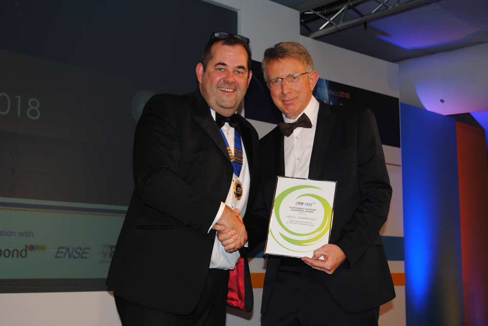 CESA Sustainable Catering Equipment Award 2018 Highly Commended - Target Catering Equipment  Photo Credit:  Catering Insight