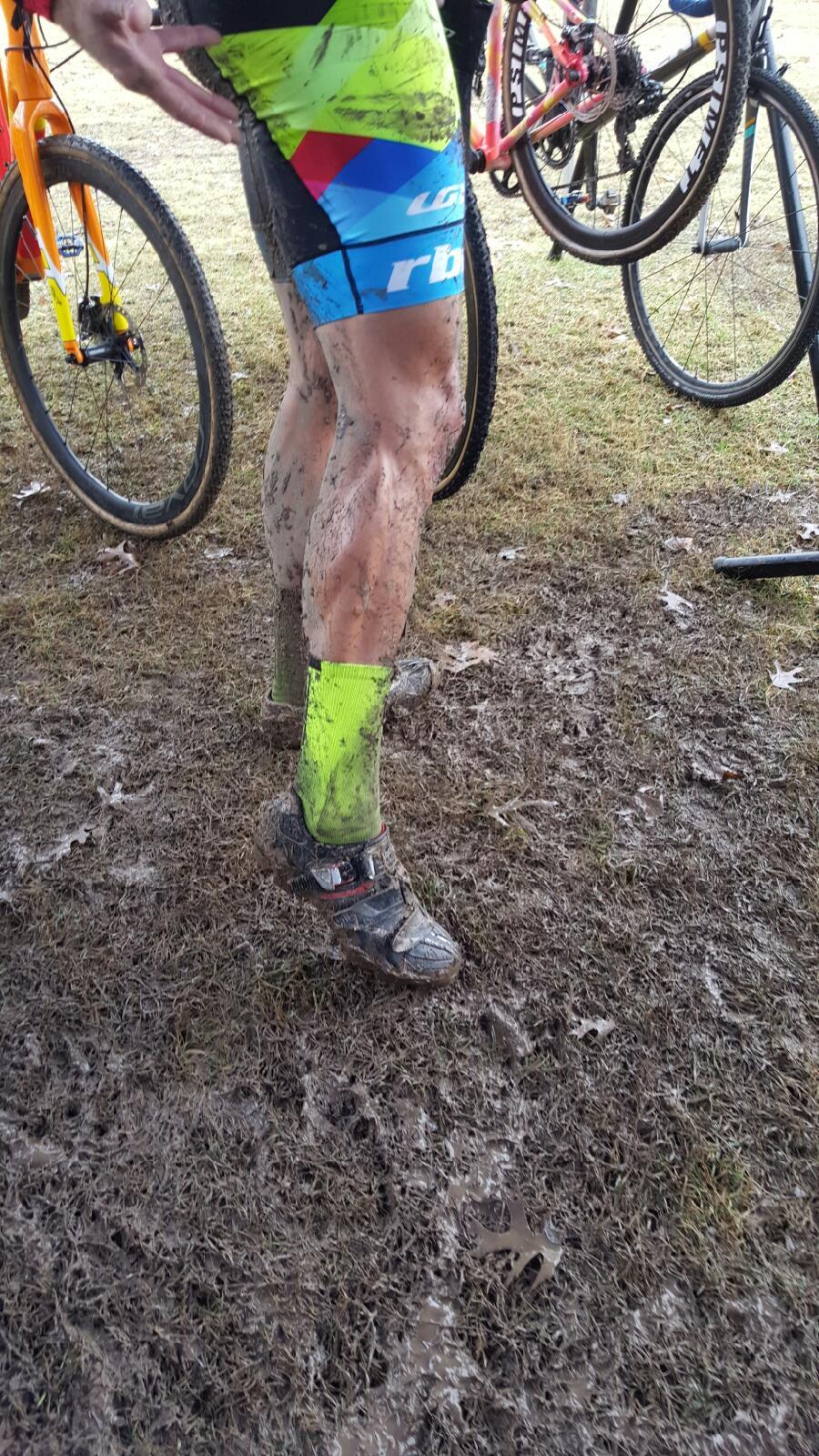 Mud and slop. Photo :  Kim Chance