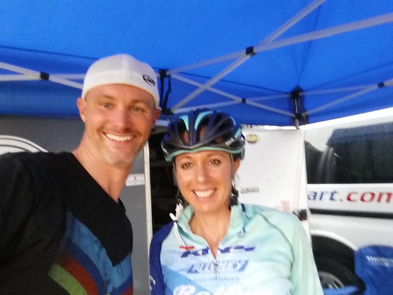 Selfie with  Rebecca Gross