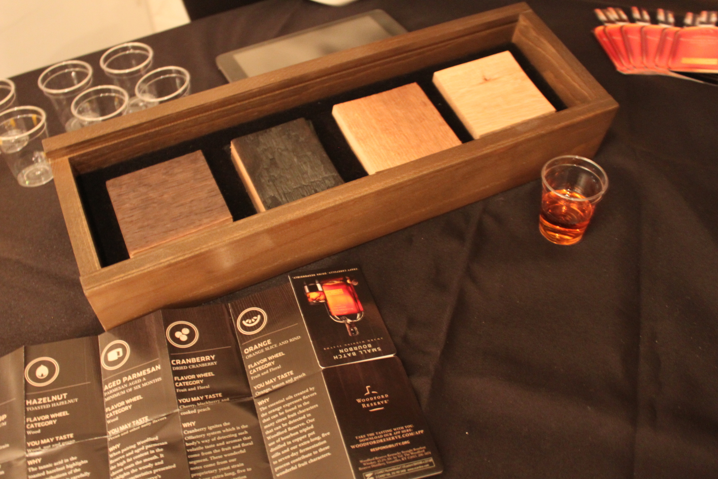 Woodford Reserve tasting bar — and a guide for doing an at-home tasting with friends: anyone interested in joining me?