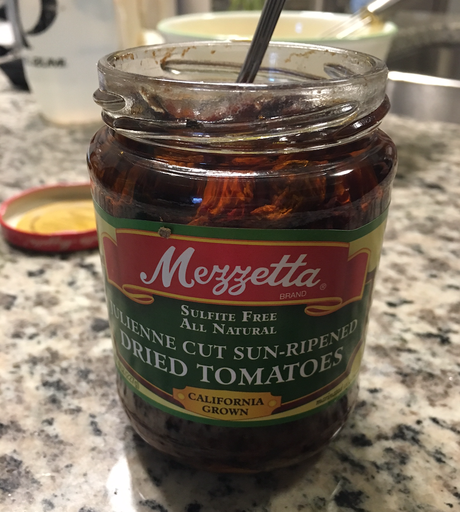This recipe can be easily adjusted to suit your own tastes by in ingredients. I chose to throw in some favorite sundried tomatoes, but can also see olives and feta cheese as a great addition.