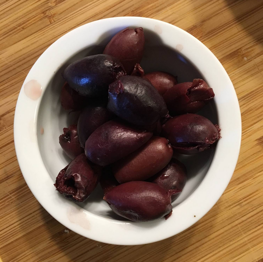 I love olives. During the heat of the summer, I will snack on these when I am craving salt after getting beat down on the South Ride.