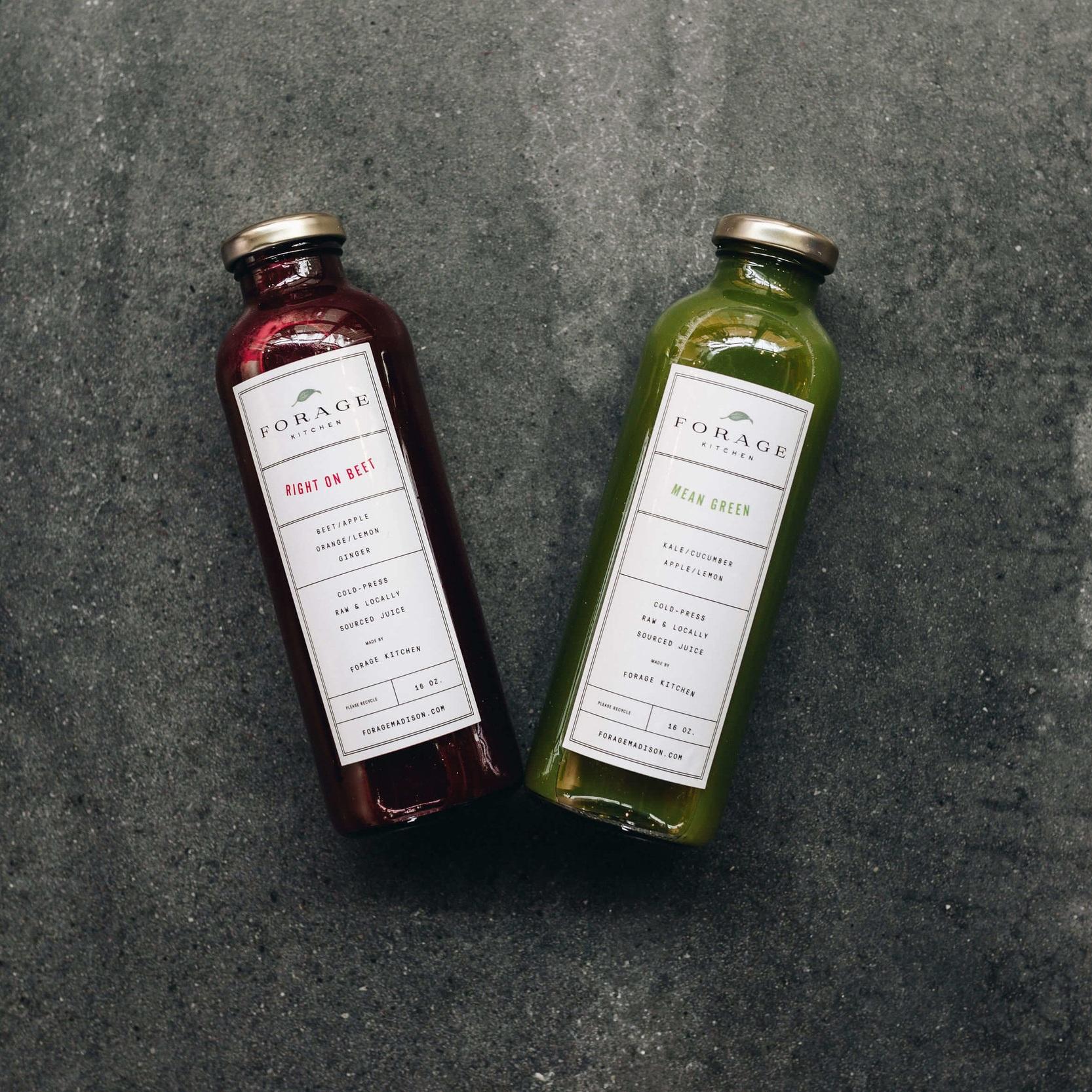 LEAN MEAN AND GREEN - Cucumber, kale, apple, lemon6