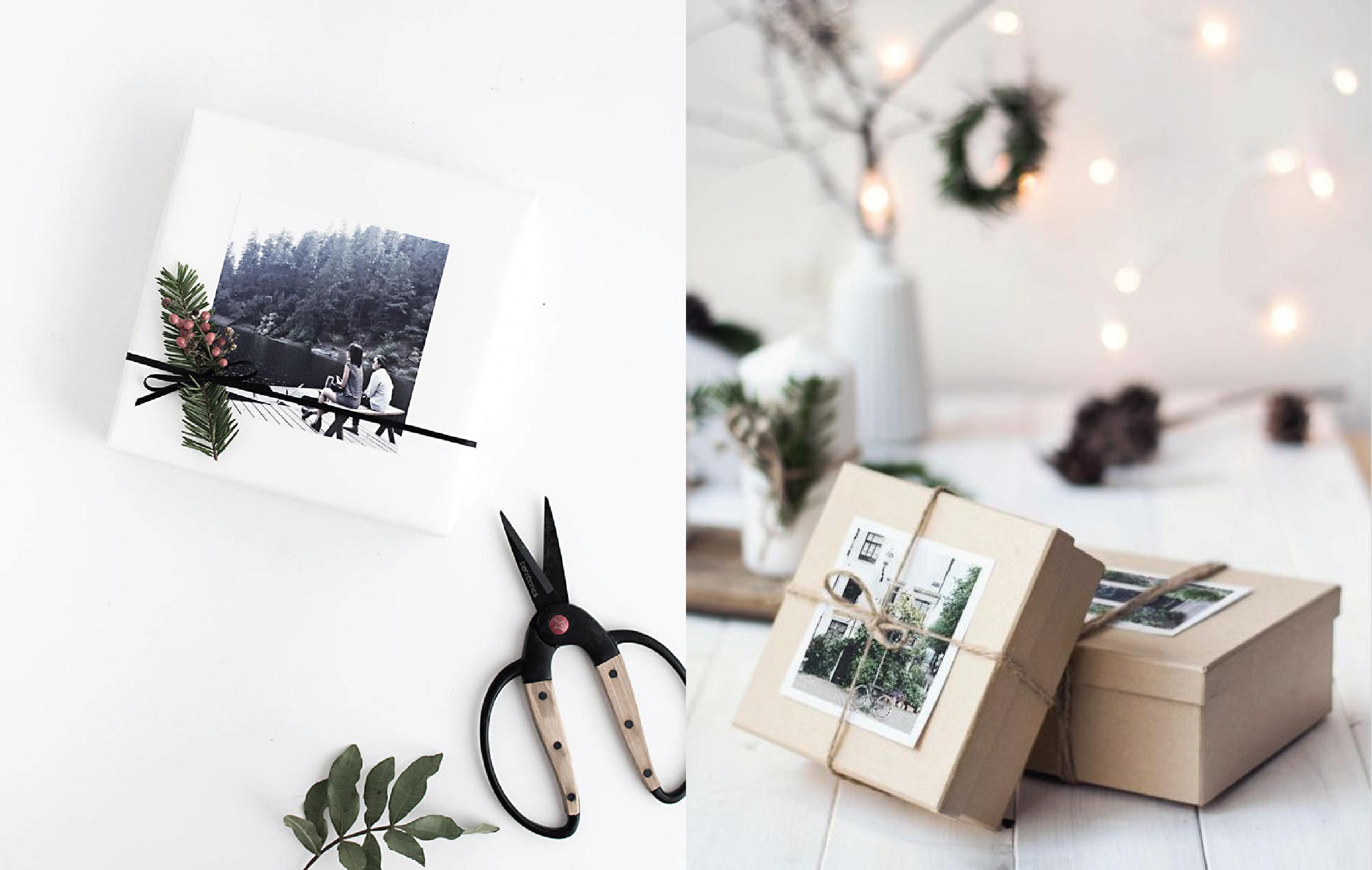 Holiday Gift Wrapping DIY