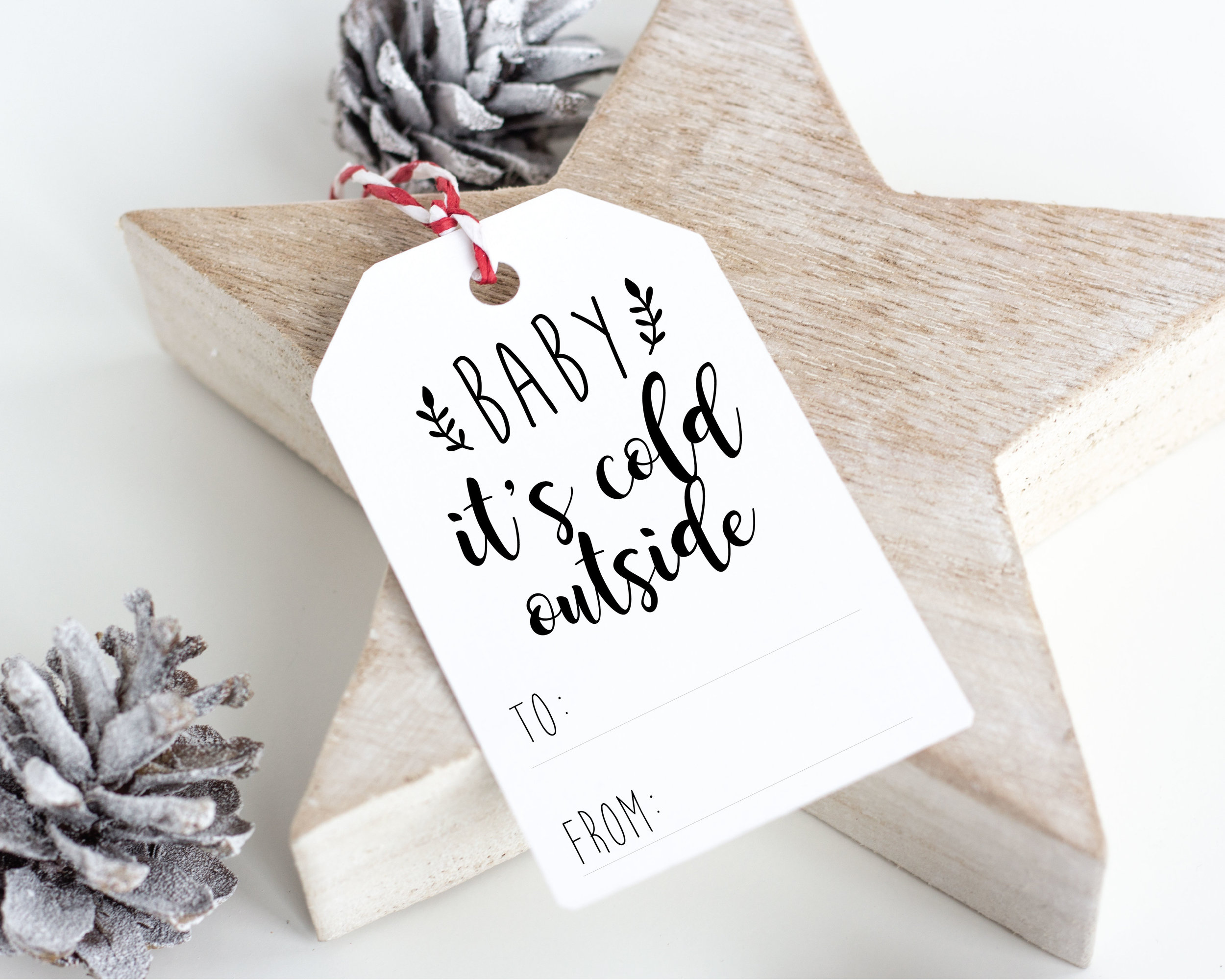 Holiday Gift Tags Free