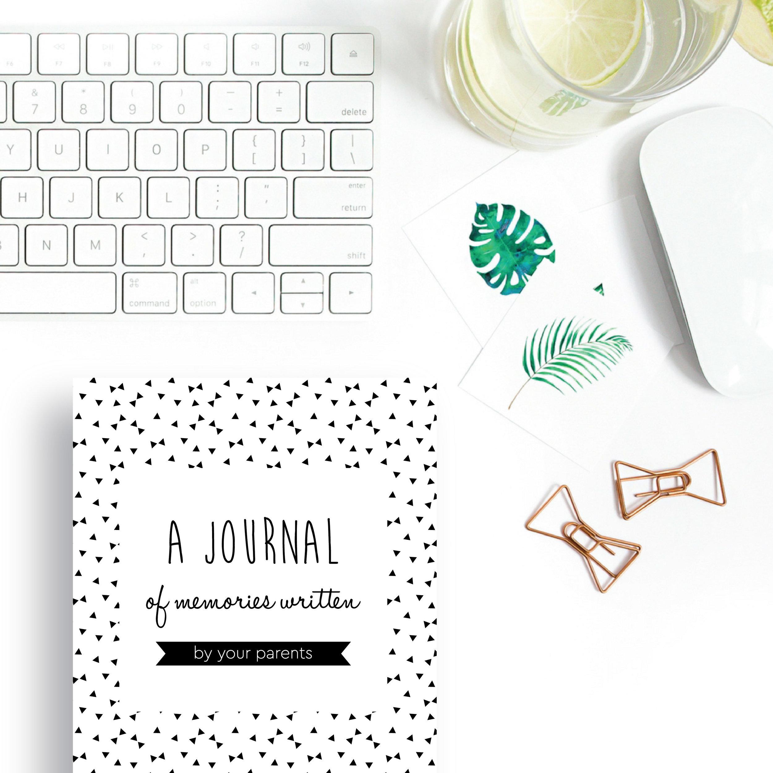 Baby Memories Journal