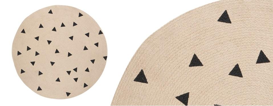 ferm-living-round-triangle-jute-rug