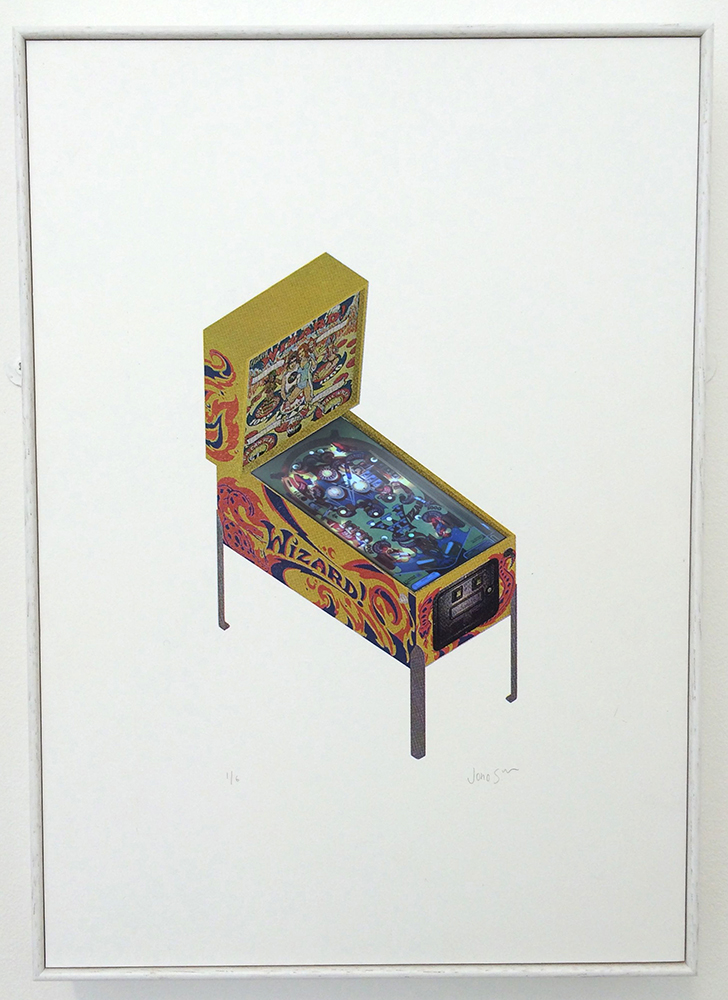 Jono Sandilands  (screen print with raspberry pi LCD)