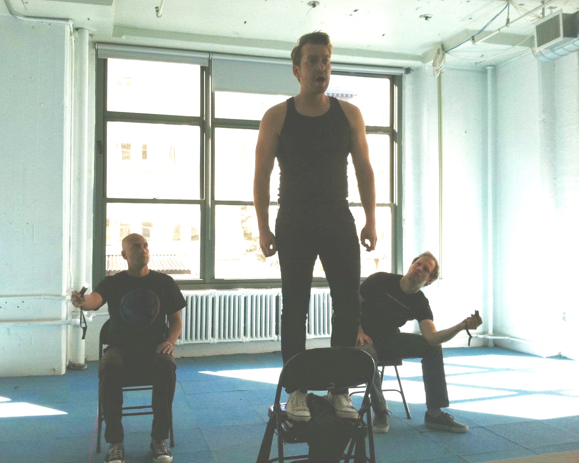 At HERE Arts Center NYC, L.A. Lights Fire's acting coach jumps into the cast for the Fall 2011 run at Manhattan Rep.