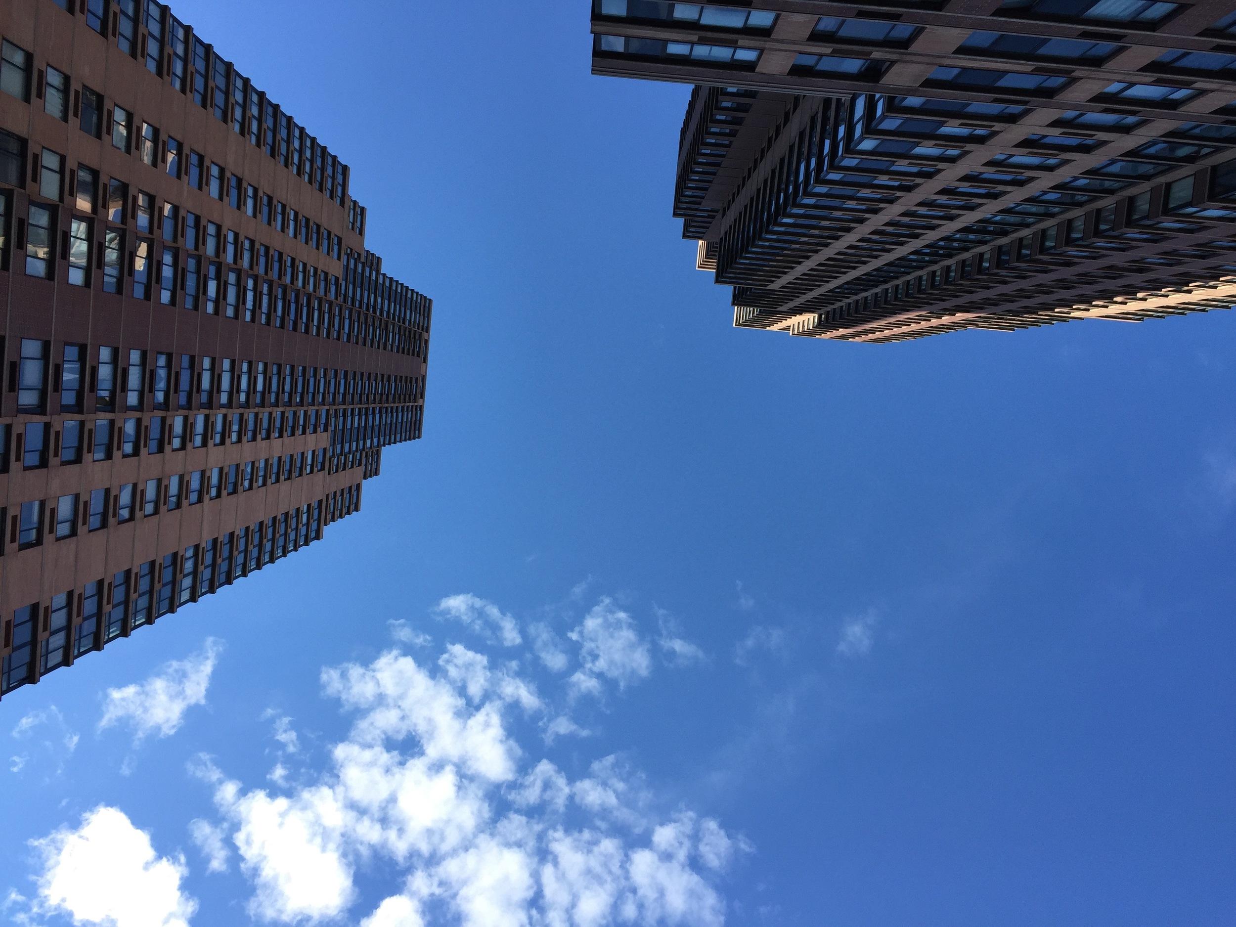 Manhattan from the ground up