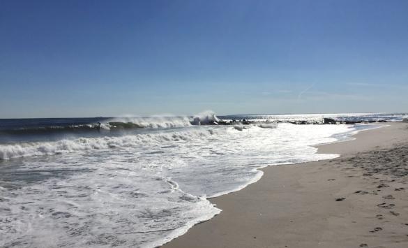 Rockaway Beach, 9/25/16, first weekend of autumn