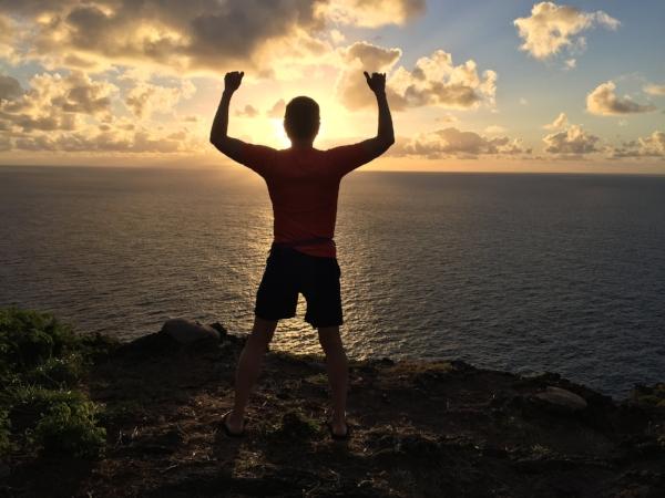 Sunrise at Makapuʻu,Hawai`i, Jan 16, 2018