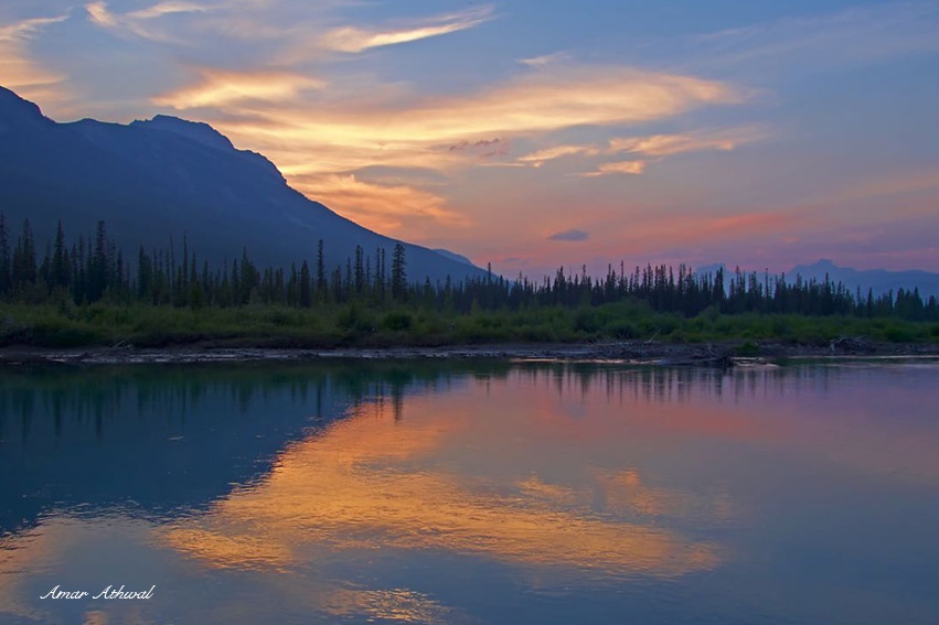 Bow River Sunset
