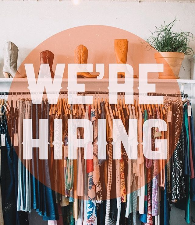 Got M-F availability (11-6) and are V chill? Solid chance we want to work with you. Send a resume to Addison.handmade.and.vintage@gmail.com immediately!