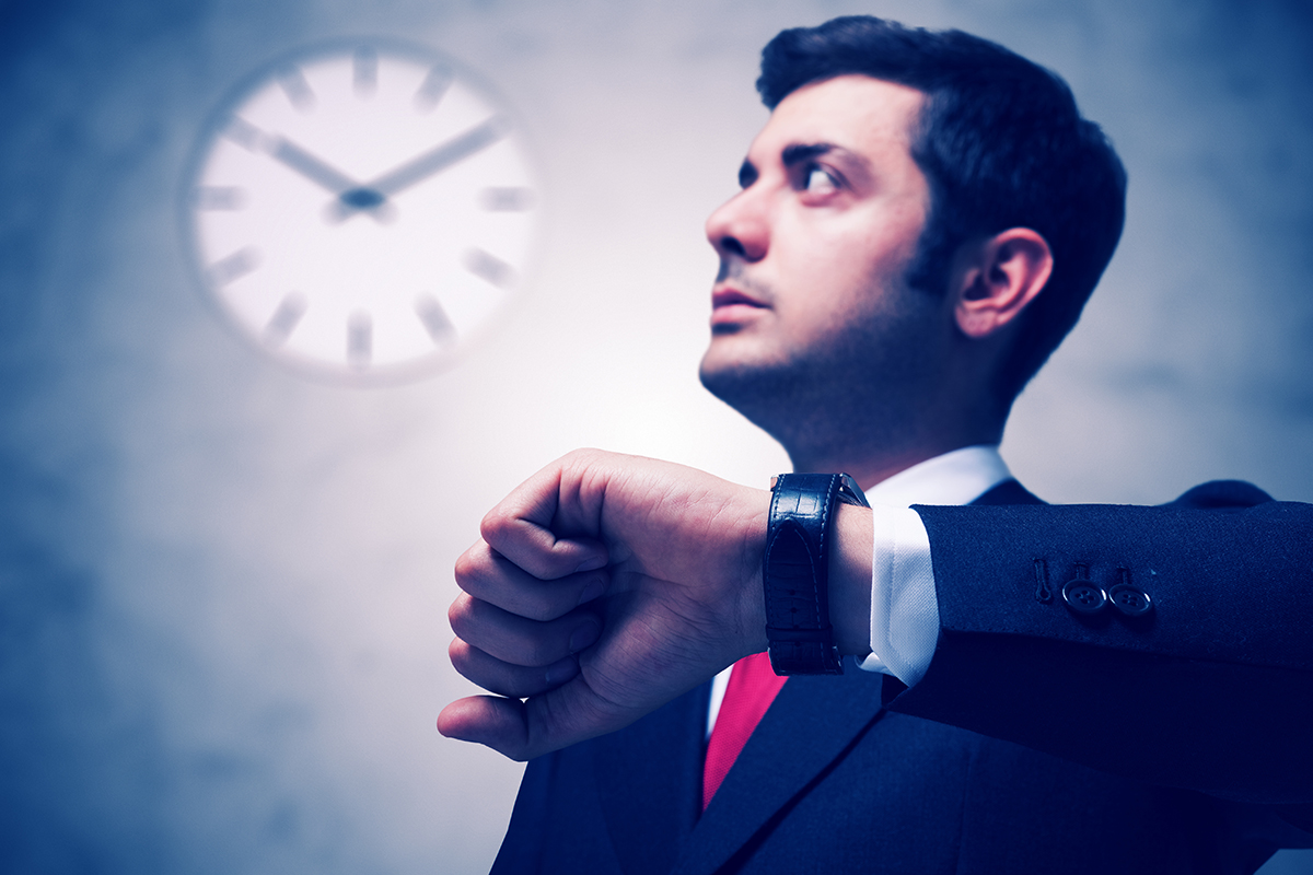 """Don't be late for work on Monday. Remember to """"spring forward"""" on all your timepieces on Sunday."""