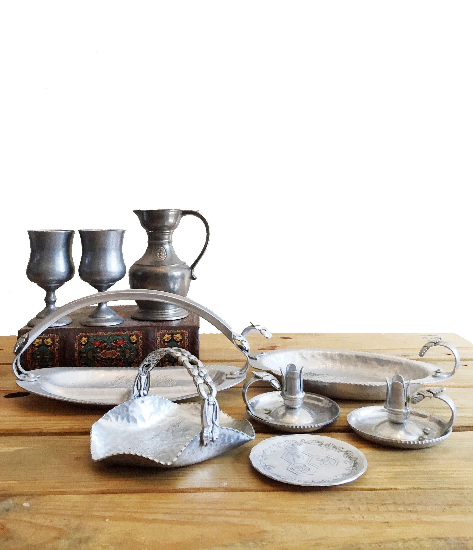 Silver Tableware Set