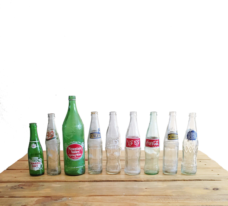 Vintage Bottle Set