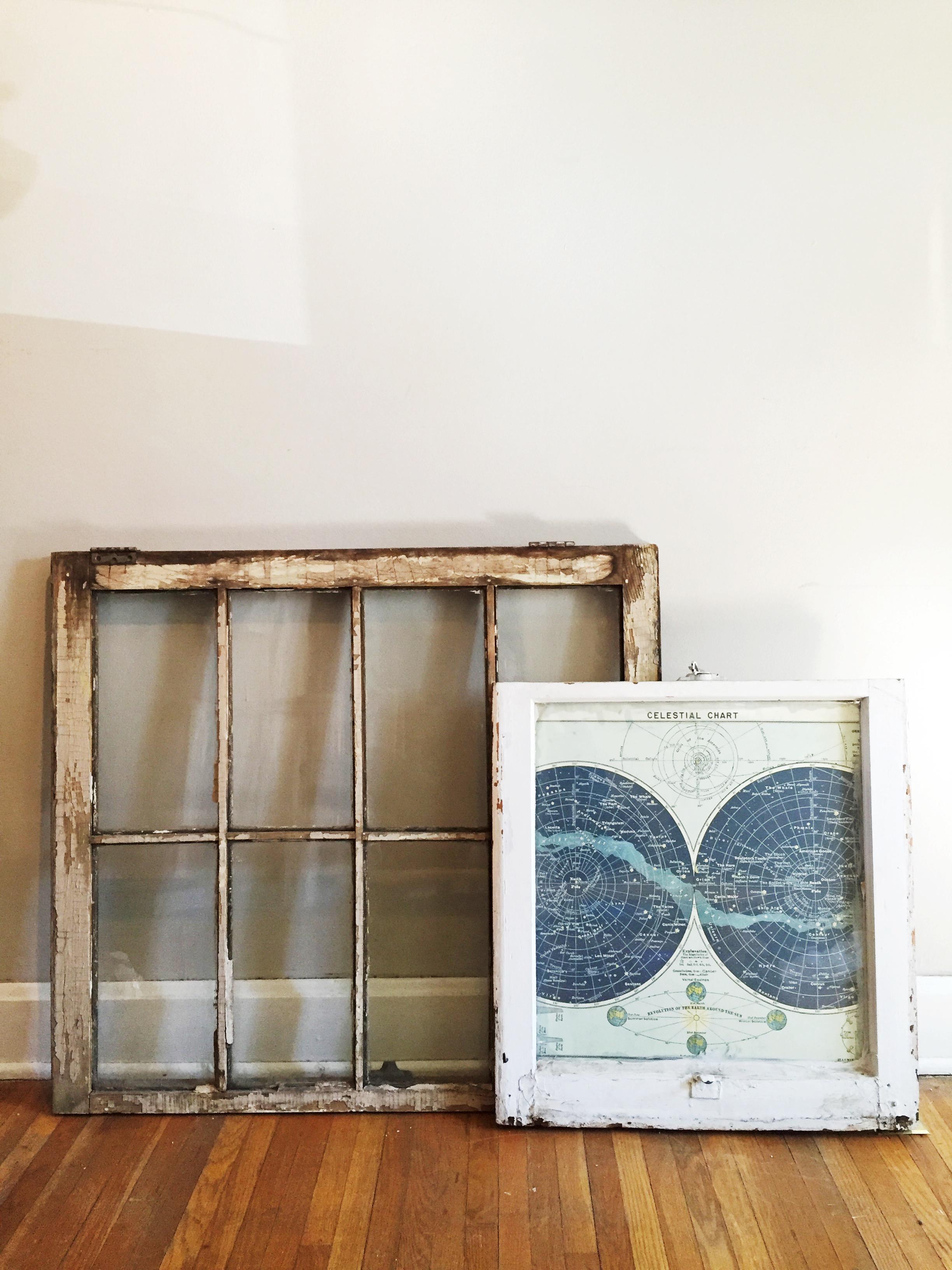 Vintage Window Frames