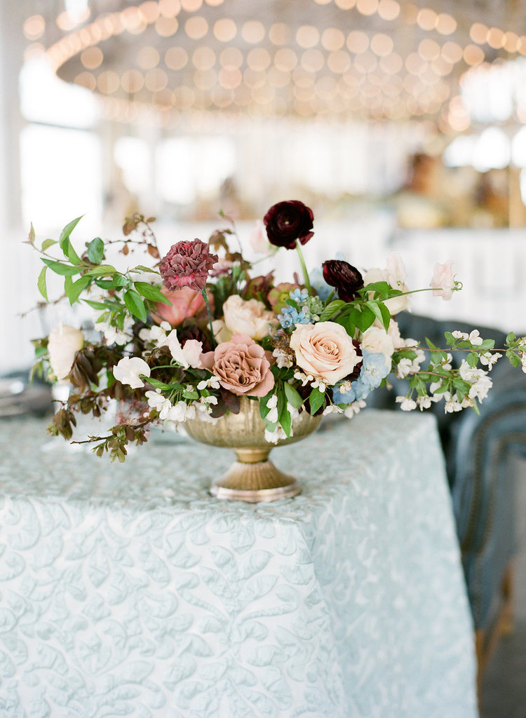 compote centerpiece blush blue maroon white roses ranunculus sweet pea.jpg