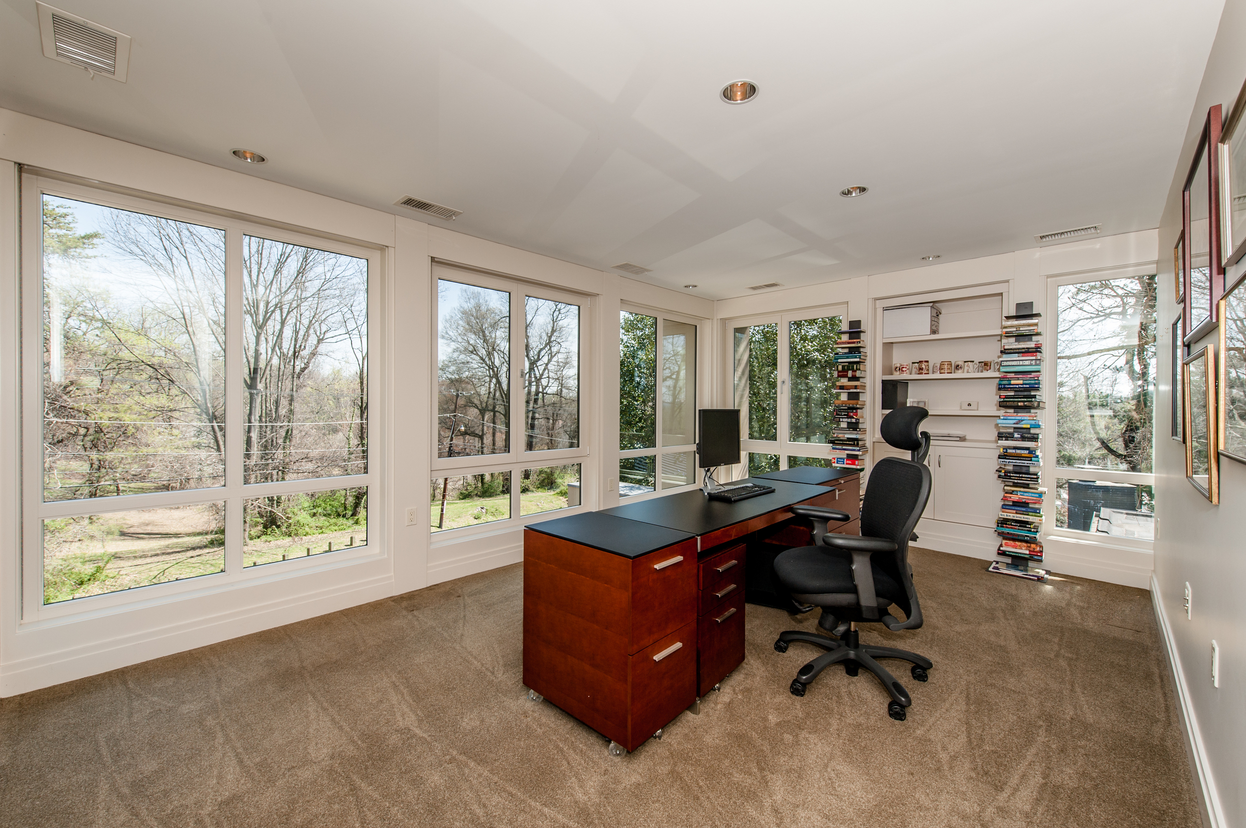 Office with Spectacular Park Views