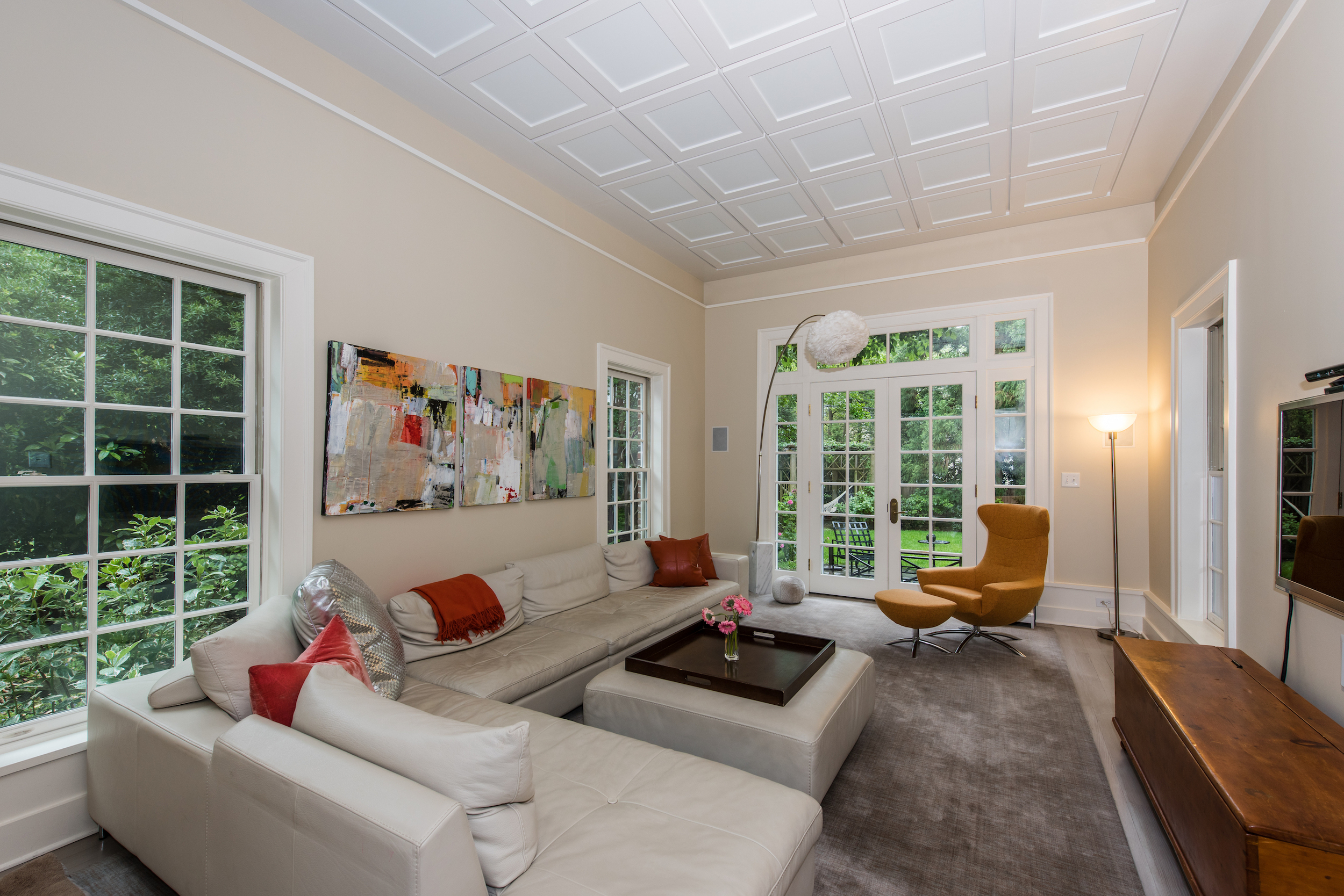 Family Room Opens to Terrace