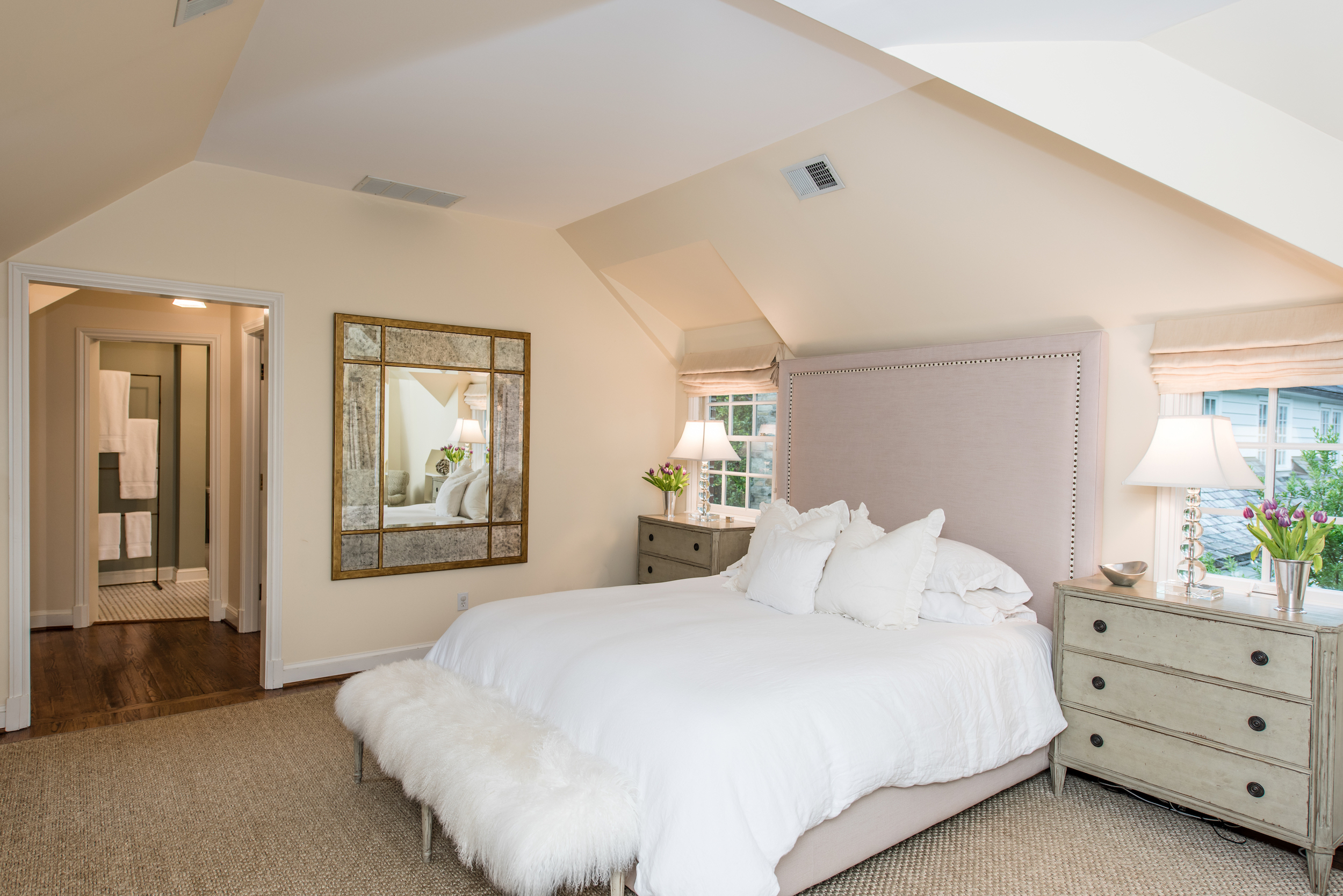 Master Suite with Walk-in Closet