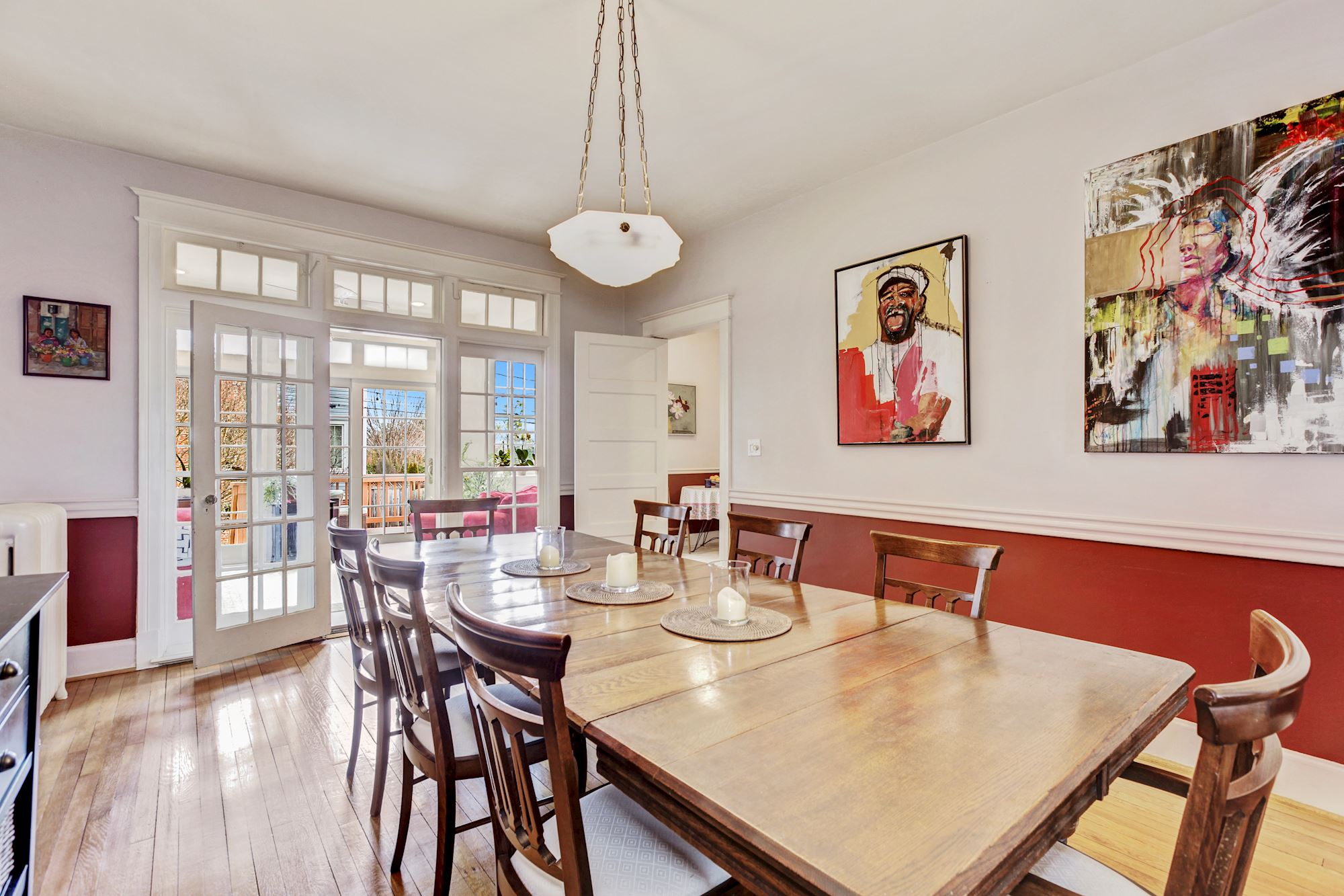 Ample Dining Room for Entertaining