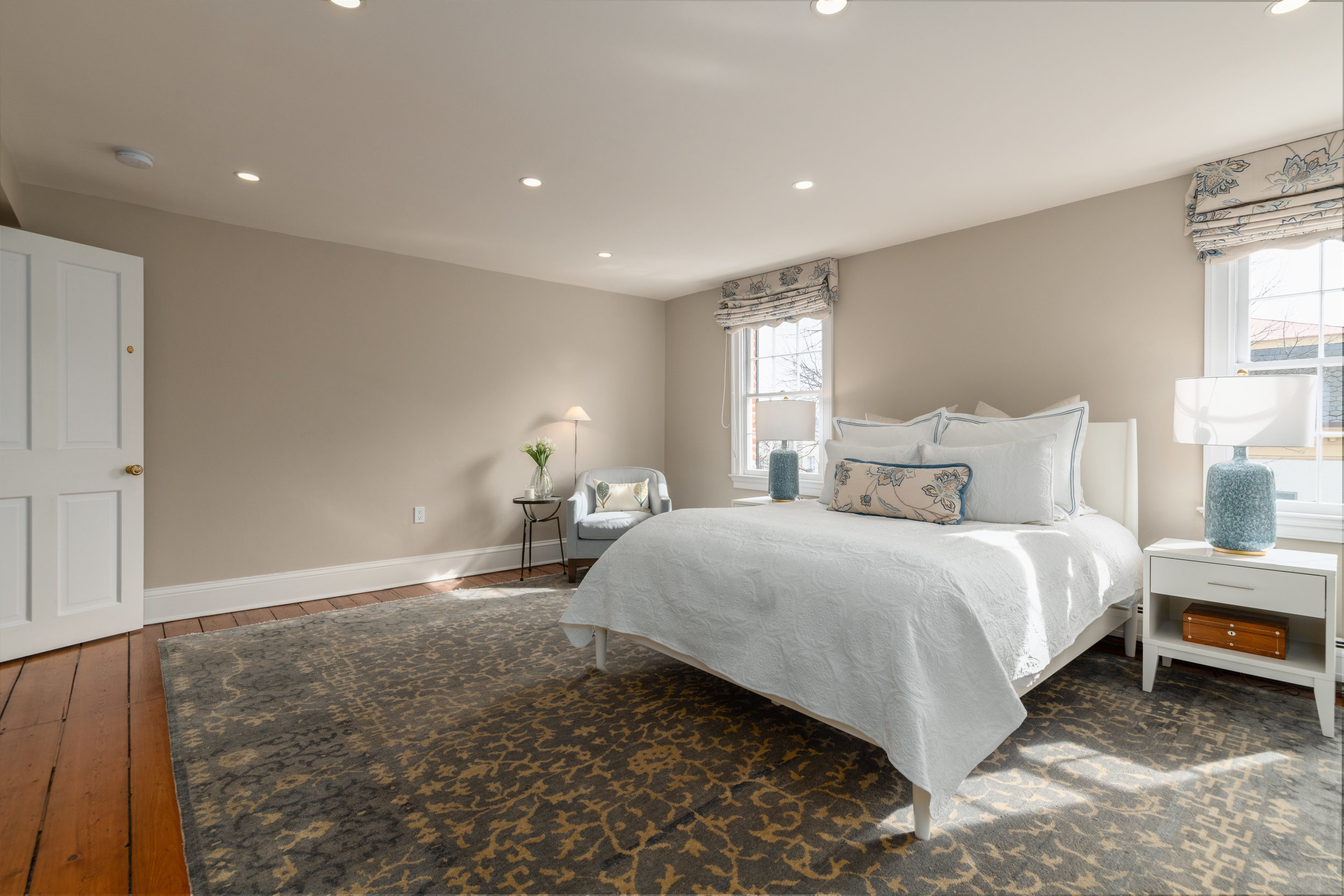 Master Bedroom with Southern Exposure