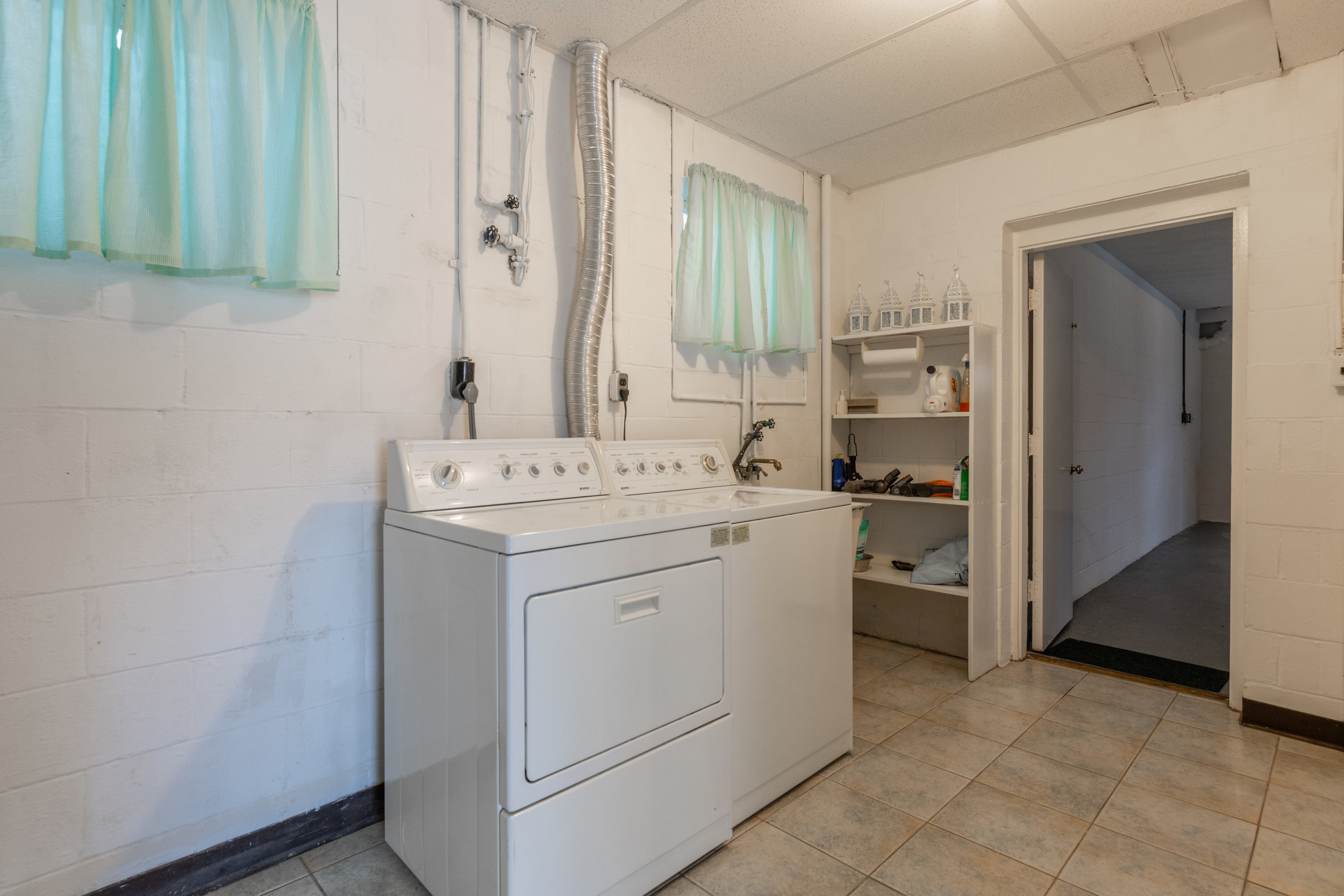 Lower Level Laundry Room