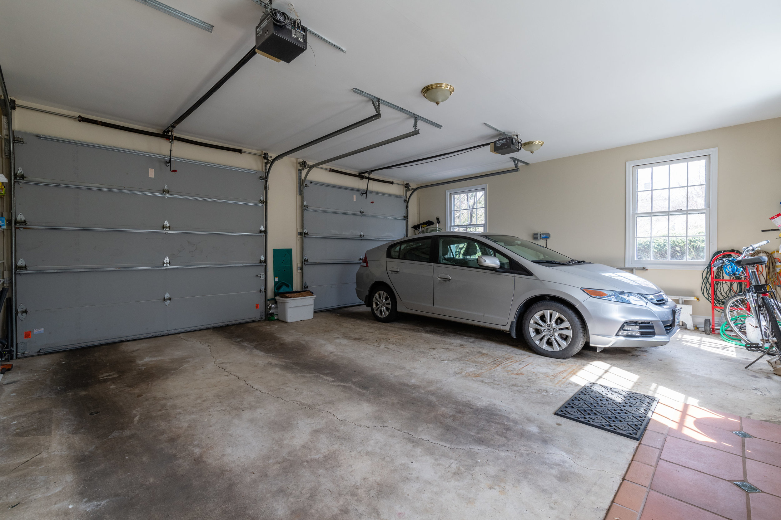 Two-Car Attached Garage